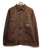 TCB jeans(ティーシービー ジーンズ)の古着「タディズジャケット」|ブラウン