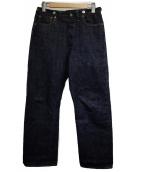 TCB jeans(ティーシービー ジーンズ)の古着「セルビッチデニムパンツ」|インディゴ