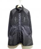 SLY(スライ)の古着「フリース切替コート」|ブラック