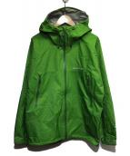 mont-bell(モンベル)の古着「レインダンサージャケット」|グリーン