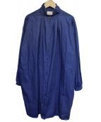 GALLEGO DESPORTES(ギャレゴデスポート)の古着「シャツワンピース」|ネイビー