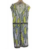 Emilio Pucci(エミリオプッチ)の古着「ブラウスワンピース」