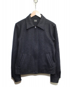 Rags McGREGOR(ラグスマックレガー)の古着「シルク混スポーツジャケット」|ブラック
