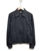 Rags McGREGOR(ラグス マクレガー)の古着「シルク混スポーツジャケット」|ブラック