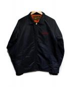 CALEE(キャリ)の古着「コーチジャケット」|ブラック
