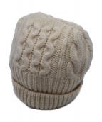 Maison Martin Margiela 14(メゾン マルタン マルジェラ)の古着「ニット帽」|アイボリー