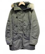 SPIEWAK(スピワック)の古着「N-3Bタイプコート」|カーキ
