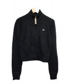BURBERRY BLUE LABEL(バーバリーブルーレーベル)の古着「ニットジャケット」|ブラック
