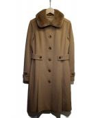 BURBERRY LONDON(バーバリーロンドン)の古着「ステンカラーコート」 ブラウン