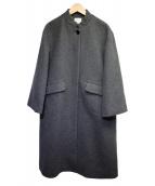 yuni(ユニ)の古着「オーバーサイズコート」|グレー