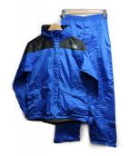 THE NORTH FACE(ザノースフェイス)の古着「セットアップレインウェア」|ブルー