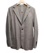 eleventy(イレブンティ)の古着「ウールテーラードジャケット」 ブラウン