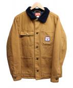 RVCA(ルーカ)の古着「ワークジャケット」|ブラウン