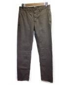 INCOTEX(インコテックス)の古着「テーパードパンツ」|チャコールグレー