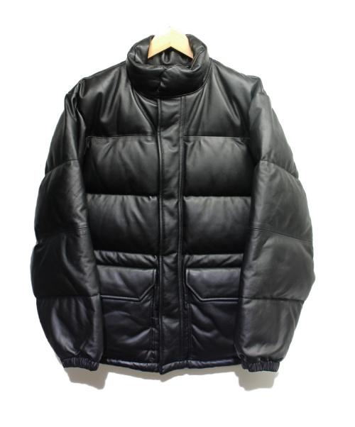 BEAMS(ビームス)BEAMS (ビームス) シープスキンダウンジャケット ブラック サイズ:Sの古着・服飾アイテム
