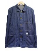 STABILIZER GNZ(スタビライザージーンズ)の古着「カバーオール」 インディゴ