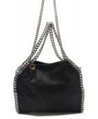 STELLA McCARTNEY(ステラ・マッカートニ)の古着「チェーンショルダーバッグ」|ブラック