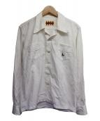 WEIRDO(ウィアード)の古着「バック刺繍FUCK U?シャツ」|ホワイト