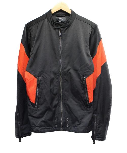 DIESEL(ディーゼル)DIESEL (ディーゼル) ブルゾン ブラック サイズ:Sの古着・服飾アイテム