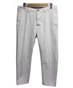 PT01(ピーティーゼロウーノ)の古着「デニムパンツ」|ホワイト