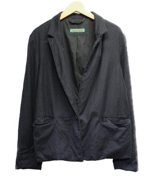 CASEY CASEY(ケーシーケーシー)CASEY CASEY (ケーシーケーシー) テーラードジャケット ネイビー サイズ:Sの古着・服飾アイテム