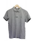 MONCLER(モンクレール)の古着「鹿の子ポロシャツ」|グレー