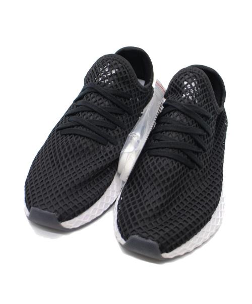 adidas×KICKS LAB(アディダス×キックスラボ)adidas×KICKS LAB (アディダス×キックスラボ) メッシュスニーカー ブラック サイズ:260 未使用品 F97486の古着・服飾アイテム