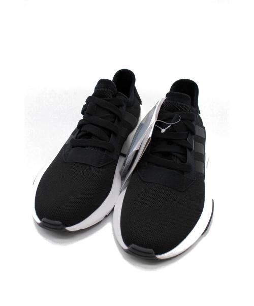 adidas(アディダス)adidas (アディダス) メッシュスニーカー ブラック サイズ:25.5 未使用品 EE9695の古着・服飾アイテム