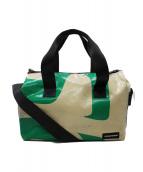 FREITAG(フライターグ)の古着「2WAYバッグ」|アイボリー×グリーン