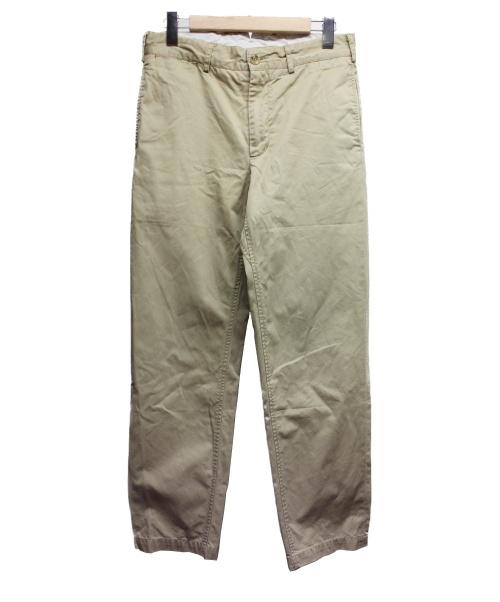 Engineered Garments(エンジニアードガーメン)Engineered Garments (エンジニアードガーメン) シンチバックパンツ ベージュ サイズ:w32の古着・服飾アイテム