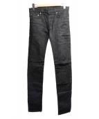 Dior Homme(ディオールオム)の古着「ストレッチスキニーデニムパンツ」|ブラック