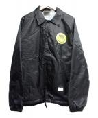 BEDWIN &THE HEARTBREAKERS(ベドウィンドアンドザ ハートブレイカーズ)の古着「コーチジャケット」|ブラック