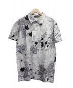 ETRO(エトロ)の古着「ポロシャツ」|ホワイト×ブラック