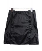 PRADA SPORTS(プラダスポーツ)の古着「ナイロンスカート」|ブラック