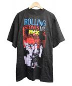 バンドTシャツ(バンドTシャツ)の古着「 [古着]THE ROLLING STONESバンドTシャツ」|ブラック