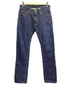 TMT(ティーエムティー)の古着「デニムパンツ」|インディゴ