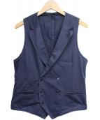 L.B.M.1911(エルビーエム1911)の古着「製品染めラペルジレ」|ネイビー
