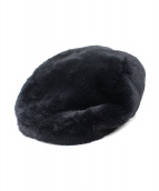 KANGOL × DSQUARED2(カンゴール×ディースクエアード)の古着「ベレー帽」|ブラック