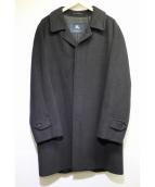 BURBERRY LONDON(バーバリーロンドン)の古着「カシミヤ混チェスターコート」|ブラック