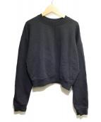 MSGM(エムエスジーエム)の古着「クルーネックスウェット」|ブラック
