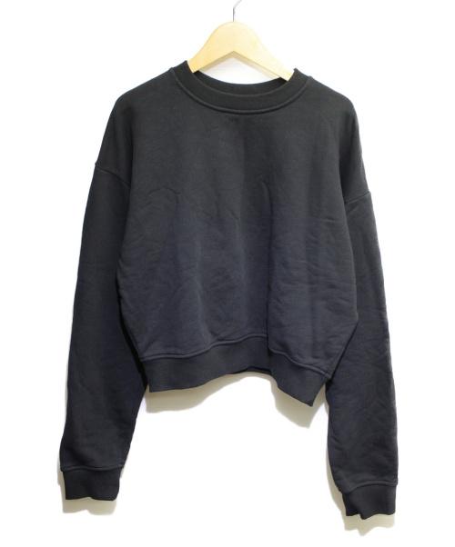 MSGM(エムエスジーエム)MSGM (エムエスジーエム) クルーネックスウェット ブラック サイズ:Mの古着・服飾アイテム