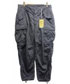 FREEWHEELERS(フリーホイーラーズ)の古着「ジャングルファティーグトラウザー」|ブラック