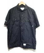 WTAPS(ダブルタップス)の古着「デックS/Sシャツ」|ブラック