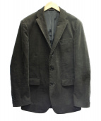 JOSEPH HOMME(ジョセフオム)の古着「コーデュロイ3Bジャケット」|カーキ