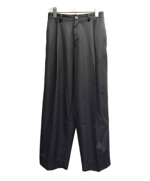 NEON SIGN(ネオンサイン)NEON SIGN (ネオンサイン) タックワイドパンツ ブラック サイズ:1 代官山O別注 540の古着・服飾アイテム