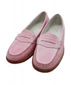 G.H.BASS(GHバス)の古着「コインローファー」|ピンク