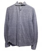 GUY ROVER(ギローバー)の古着「ロングスリーブシャツ」|ネイビー