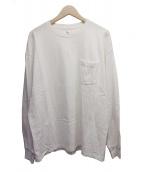 KAPTAIN SUNSHINE(キャプテン サンシャイン)の古着「ウエストコーストL/STシャツ」|アイボリー×ベージュ