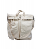 F/CE(エフシーイー)の古着「ナンバースリーヘルメットバッグ」|アイボリー