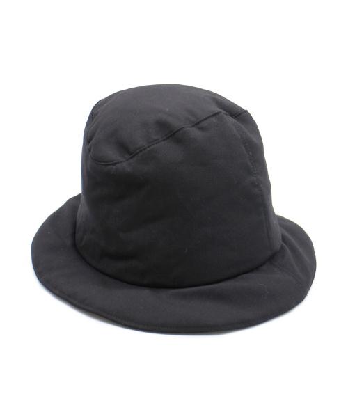 KIJIMA TAKAYUKI(キジマタカユキ)KIJIMA TAKAYUKI (キジマタカユキ) ウール中綿ハット ブラック 未使用品の古着・服飾アイテム